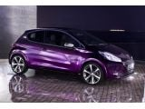 Peugeot 208 XY Concept features color changing livery