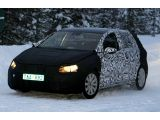 2013 Volkswagen Golf caught winter testing