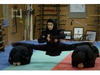 İşte İran ordusunun kadın ninjaları