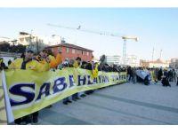 Fenerbahçeliler Çağlayan'da destekte