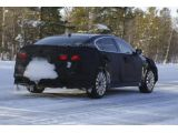 2013 Kia K9 spied cold weather testing