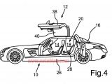 SLS AMG four-door patent documents