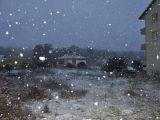 Kemer'e bile kar yağdı!