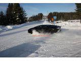 Spy Shots: Lamborghini Aventador Loses Control in Snow