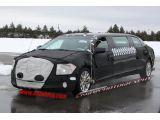 Cadillac XTS limousine spy shots