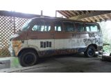 "1972 Dodge Sportsman Kurt Cobain decorated Melvins ""Melvan"""