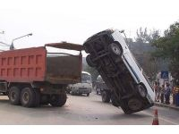 Dünyanın en garip otomobil kazaları