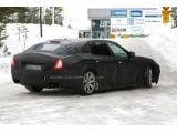 2014 Maserati Quattroporte full-body prototype first time spied