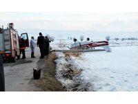 Ankara'da uçak düştü!
