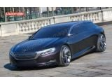 Citroen DS Concept caught uncovered