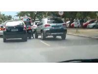 Kadın şoförün intikamı acı oldu