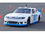 Google reveals self-driving NASCAR racer