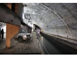 Land Rover expedition visits former Soviet submarine base