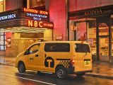 New York's 2014 Nissan NV200 Taxi of Tomorrow makes public debut