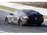 2014 Maserati Quattroporte spied testing around Nurburgring