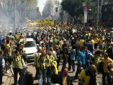 Fenerbahçeliler Destek yürüyüşü