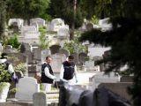Kozlu Mezarlığı'nda bomba araması