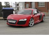 Audi R8 e-tron spied up close