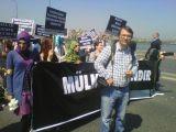 Antikapitalist Müslüman Gençler 1 Mayıs için yür