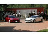 Ferrari takes the prancing horse motto literally to celebrate Queen Eliz