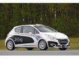 Peugeot 208 R2 rally car