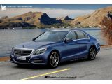 2013 Mercedes S-Class rendered & speculated