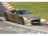 Aston Martin Vanquish spied at Nurburgring completely uncovered