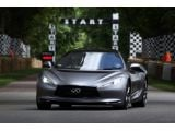 Infiniti EMERG-E prototype driving debut at Goodwood