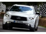 Sebastian Vettel drives namesake Infiniti FX for first time - Euro prici