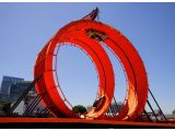 Spectacular Hot Wheels Double Dare Loop at X Games