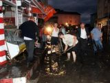 Samsun'da sel 2 köprüyü yıktı