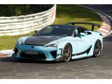 Beefy Lexus LFA prototype caught on Nurburgring