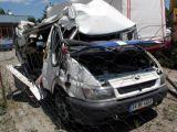 Ağrı'da feci kaza