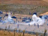 Afyon'da taş ocağına taşlı saldırı