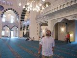 Ahmet Hakan Mimar Sinan Camii'nde
