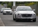 2014 Cadillac CTS spied in motion near Nürburgring