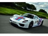 Porsche 918 Spyder will get Martini Racing livery