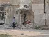 Habertürk muhabirinin girdiği Azzaz'da savaşın acı izleri her yerde kend
