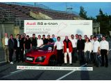 Audi releases a video of the R8 e-tron Nürburgring record