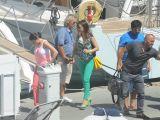 Ebru Gündeş'in teknesi yolda kaldı