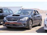 2014 Subaru WRX: Spy Shots