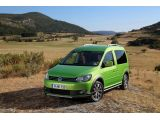 Volkswagen Cross Caddy revealed