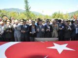 Şehit Komando Er Mustafa Akar toprağa verildi