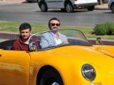 Kürşat Tüzmen ilk elektrikli spor otomobili sürd