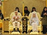 Brunei Sultanı'nın kızı evlendi