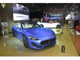 Maserati GranCabrio MC showcased in Paris