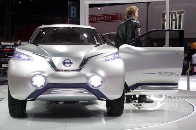 Nissan Terra Concept Paris 2012 Foto Galerisi Resim 1