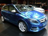 Mercedes-Benz B-Class Electric Drive Concept: Paris 2012
