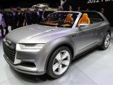 Audi Crosslane Coupe Concept: Paris 2012