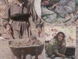 Kadın PKK'lıların içler acısı görüntüleri!